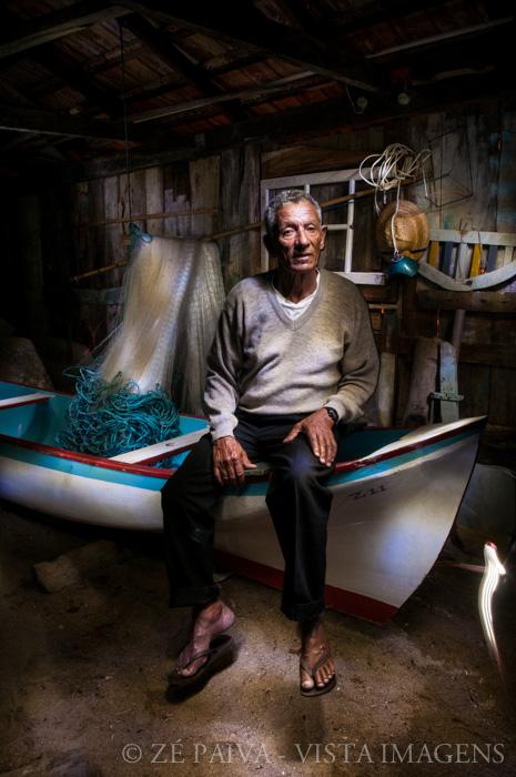 Seu Zequinha - pescador da Costa da Lagoa