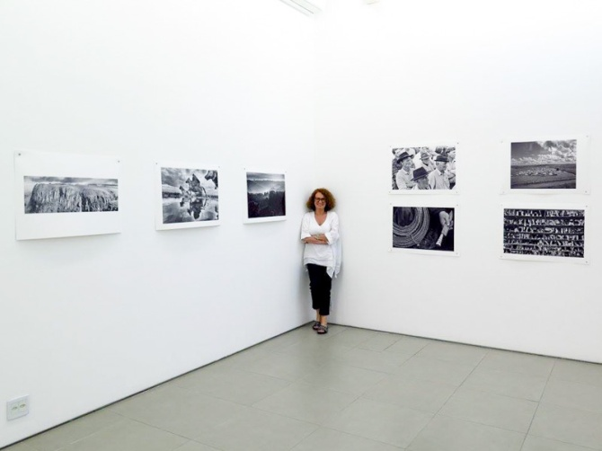 Marga Pasquali, a proprietária da galeria Bolsa de Arte.