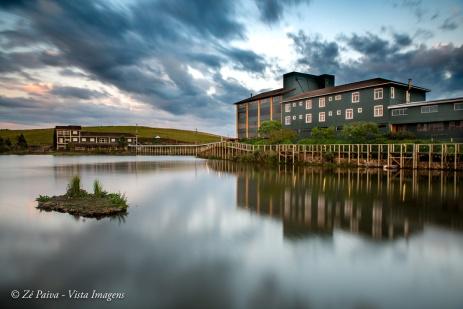 Cambara Eco Hotel, vista do lago.