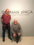German Lorca e eu no Itaú cultural