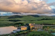 Cambara Eco Hotel, vista do mirante.