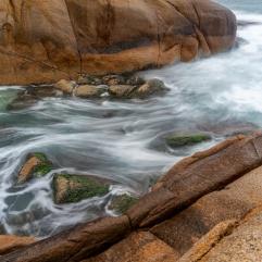 Costão da Praia Mole, foto Cristiane Ribas.