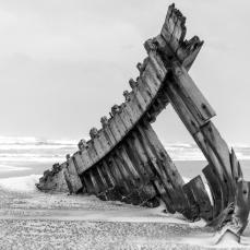 Destroços de navio, foto de Ronaldo Andrade.