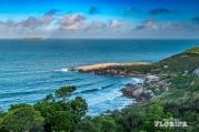 Praia do Gravatá vista da trilha