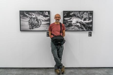 """Exposição coletiva """"Existiresistir""""na Sala Lindolf Bell, no Centro Integrado de Cultura, Floripa."""