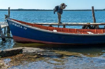 Barco de pesca na Costa da Lagoa, foto de Ze Paiva - Vista Imagens
