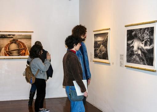 """Exposição """"O Somsilêncio da Imagem"""" na Sala Roy Kellermann."""