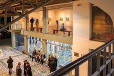 Abertura da 3ª temporada de exposições no MAB - Museu de Arte de Blumenau.