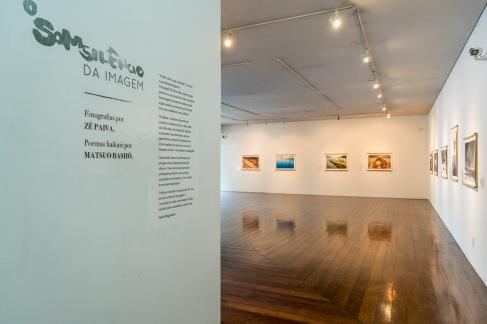 """Exposição """"O Somsilêncio da Imagem"""" no Museu de Arte de Blumenau."""