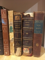 Cosmos, de Alexander Von Humboldt, um dos livros de cabeceira de Darwin.