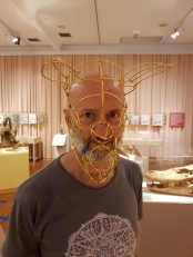 Máscara de animal.