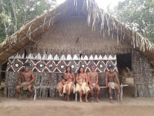 Aldeia indígena.